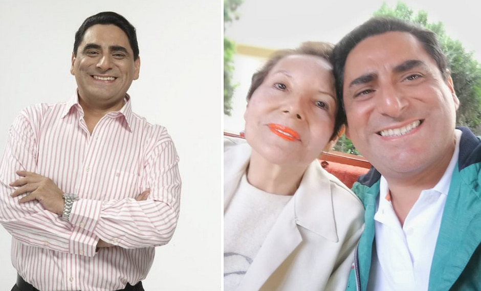 Mamita de Carlos Álvarez murió y cómico le dedica desgarrador mensaje (FOTO)