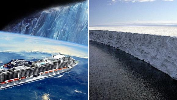 """Creen que la Tierra es plana y viajarán en crucero para """"comprobarlo"""""""