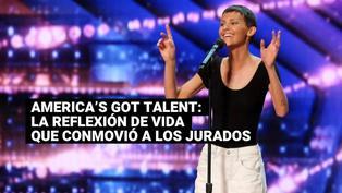 America's Got Talent: La emotiva reacción de los jurados tras la reflexiónde una participante con cáncer