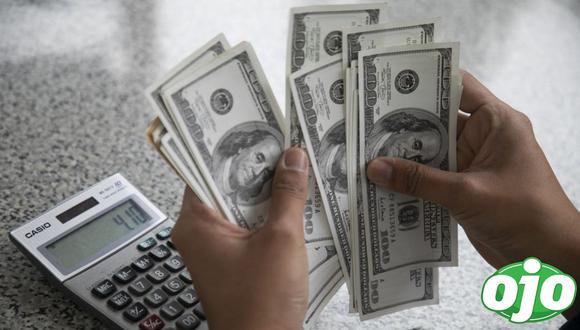 Para el próximo año se calcula que el dólar podría cerrar con una cotización de S/ 4.08 la unidad en promedio. (Foto: Eduardo Cavero / GEC)