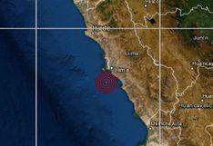 Sismo de 3,7 grados en la escala de Ritcher fue reportado esta tarde en el Callao