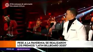 Así se vivió la ceremonia de los Latin Billboard 2020