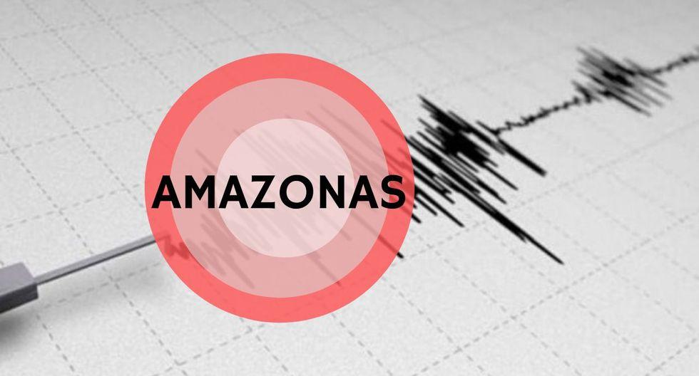 Sismo en Amazonas