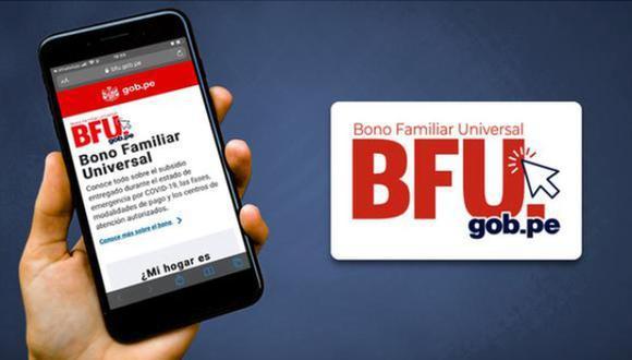 El Gobierno dio a conocer el cronograma para poder registrarte a la Banca celular y puedas cobrar el segundo BFU (Foto: BFU)