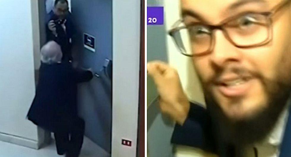 Diputado chileno fue grabado agrediendo a periodista (VIDEO)