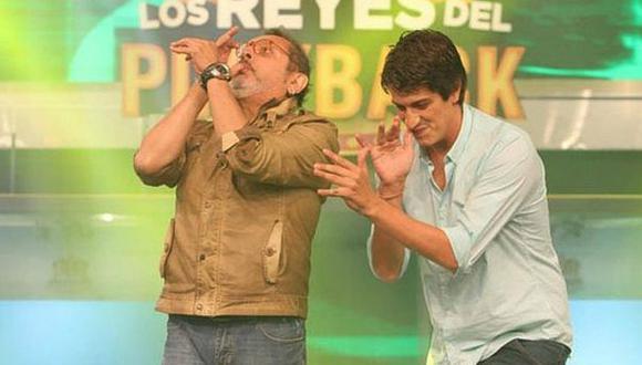 Así ensayaban Stefano Tosso y Ricky Tosso antes de actuar [VIDEO]