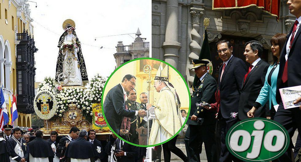 Martín Vizcarra le reza a Santa Rosita en medio de la crisis política (FOTOS)