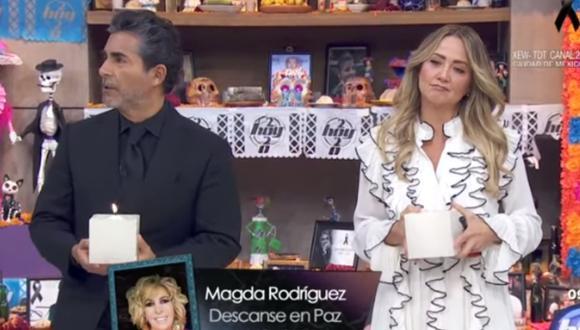 Magda Rodríguez fue una importante productora de TV mexicana. (Foto: Captura Televisa)
