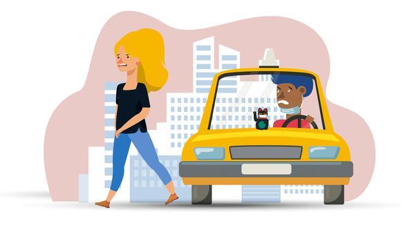 Bajen a la Covid del taxi: ATU nos recuerda protocolos sanitarios del servicio | Historias OJO