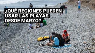 ¿Quiénes podrán hacer uso de la playa y qué medidas sanitarias deben seguir?