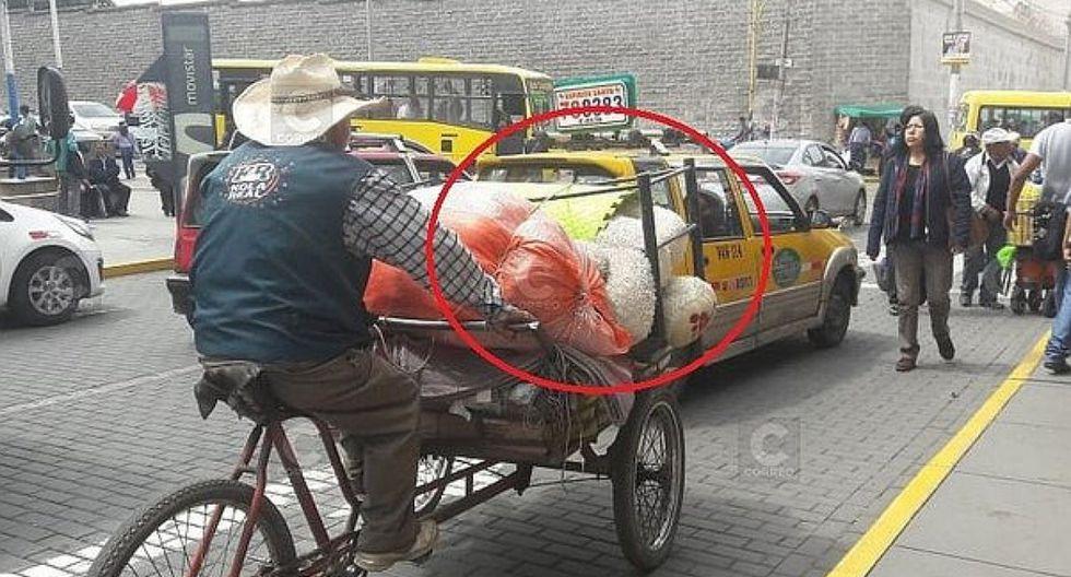 "Joven ""despechado"" vende peluche a reciclador en Arequipa"