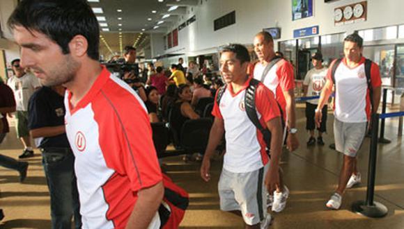 Luego de su victoria en Bolivia, Universitario llegó a Lima