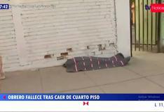 San Juan de Miraflores: obrero murió en pleno trabajo en la Av. Pedro Miotta