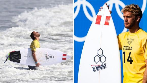 Miguel Tudela no logró su pase y se quedó en la tercera ronda de surf. (Foto: Instagram @migueltudelach)