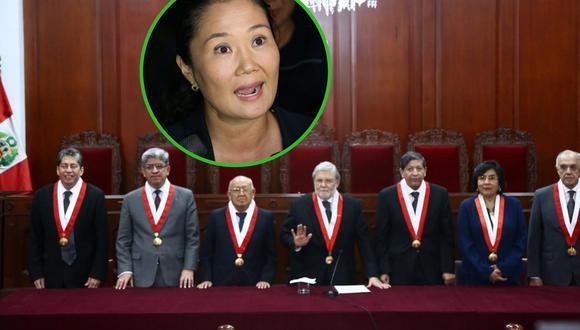 Este jueves el pleno del TC no evaluó el caso Keiko Fujimori, se programó la ponencia para el martes 19 de noviembre. (Foto: GEC)
