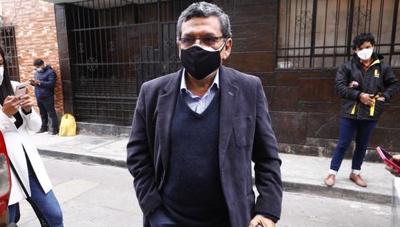 Hernando Cevallos, integrante del grupo técnico de Perú Libre. (Eduardo Cavero / @photo.gec)