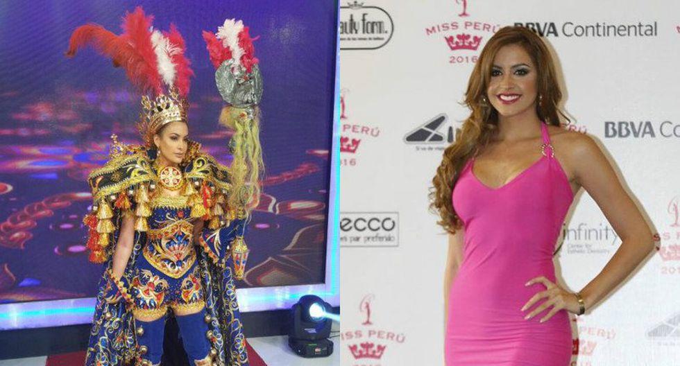 ¡Lo dijo! ¡Milett Figueroa aún quiere ser Miss Perú!