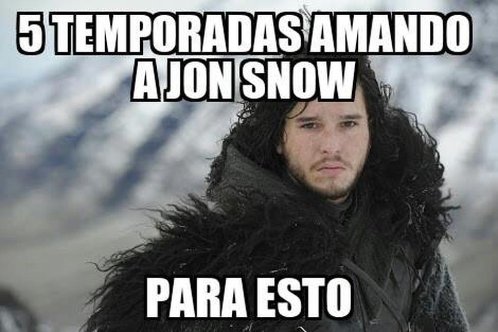 Games Of Thrones: Memes tras el final de la quinta temporada [Fotos]