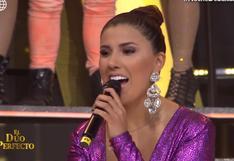 """Yahaira Plasencia reapareció cantando en vivo en """"El dúo perfecto""""│VIDEO"""