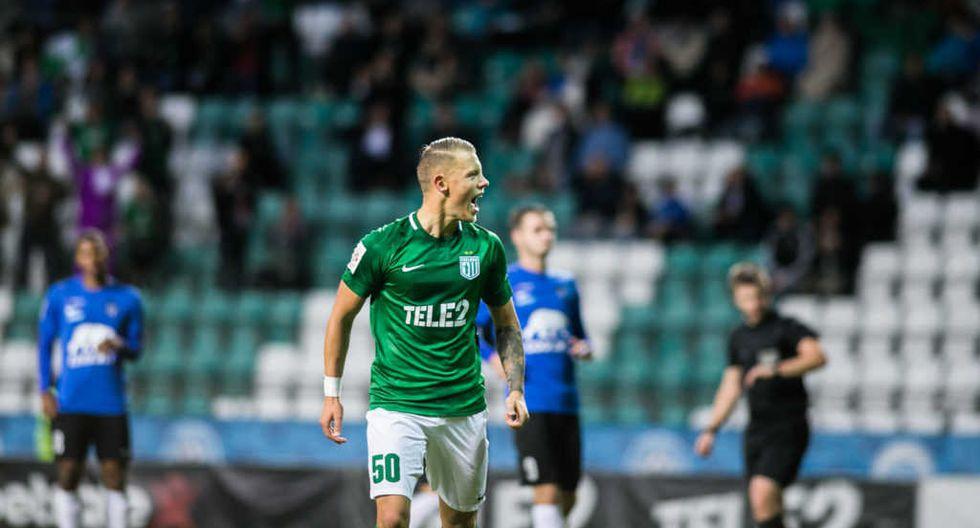 Erik Sorga - 35 goles con 46 partidos / 34 con Flora Tallin y 1 con Estonia (Foto: Flora Tellin)