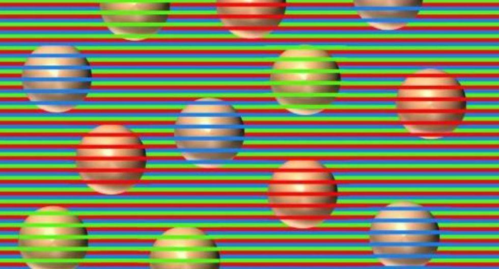 Usuarios de Facebook no pudieron evitar asombrarse al conocer el secreto detrás de la ilusión óptica. (Foto: Twitter/@NovickProf)