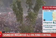 Sismo de 6.3 grados sacude Chile en medio de protestas extremas   VIDEO