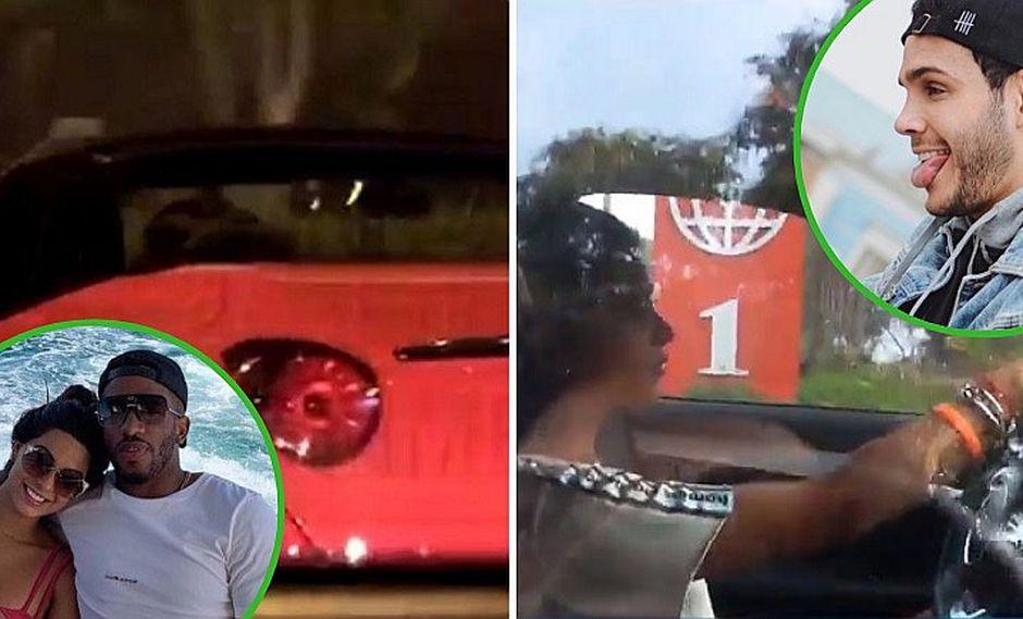 Ivana Yturbe es captada manejando nuevo auto y resulta ser de Mario Irivarren (VIDEO)