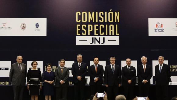 Junta Nacional de Justicia |FOTO:  ÁNGELA PONCE
