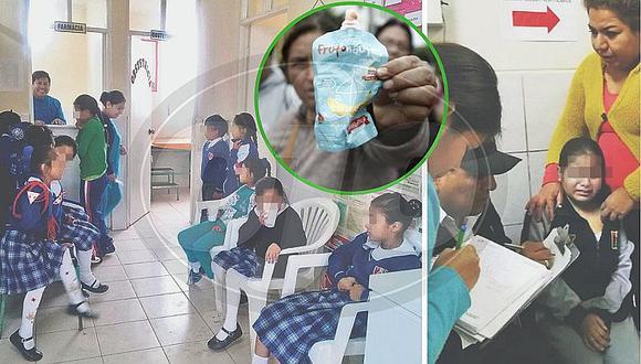 Qali Warma intoxica a 620 niños de 13 colegios de Cañete (FOTOS)
