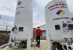 20 toneladas de oxígeno medicinal importadas de Ecuador llegan a la región Amazonas