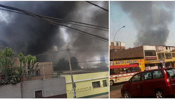 ¡Otro más! Reportan incendio en almacén del Ministerio Público (VIDEO)
