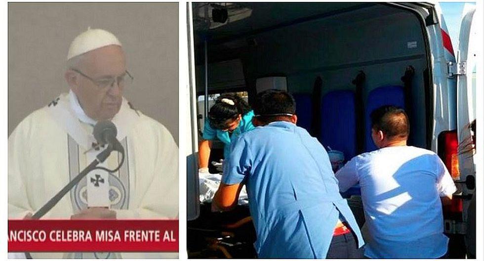 Mujer muere tras asistir a multitudinaria misa del papa Francisco