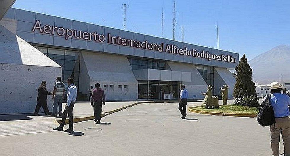 Arequipa: Cierran aeropuerto por posible amenaza de bomba