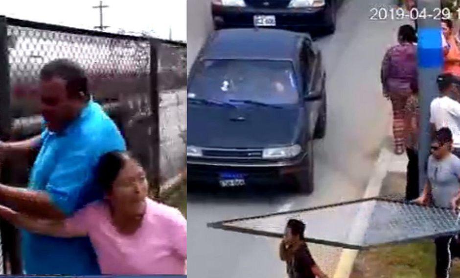 Intentan colocar malla para evitar accidentes en Ventanilla y vecinos se pelean con agentes | VIDEO