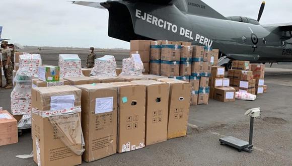 El cargamento está valorizado en 11 millones 318,214 soles. (Foto referencial / GEC)