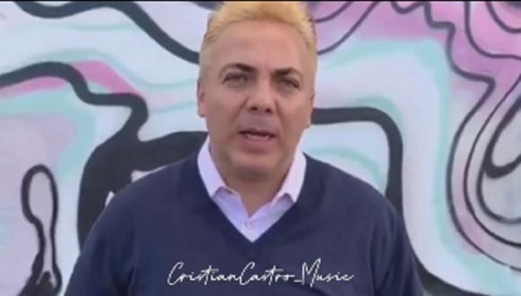 Cristian Castro se sincera y dice que no es un buen padre (Foto: Instagram)