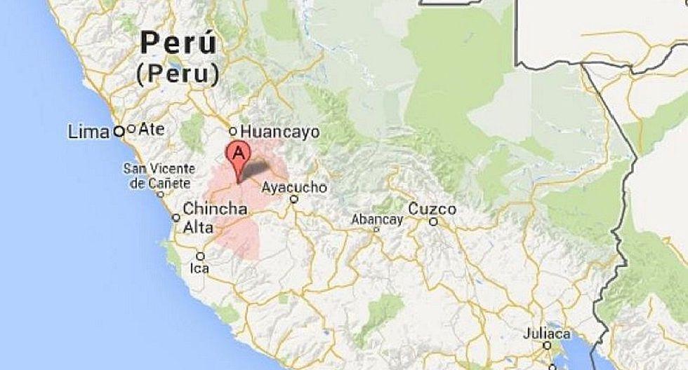 Sismo de 5.2 remece Huancavelica, según IGP
