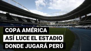 Copa América 2021: así luce la cancha donde Perú jugará contra Brasil