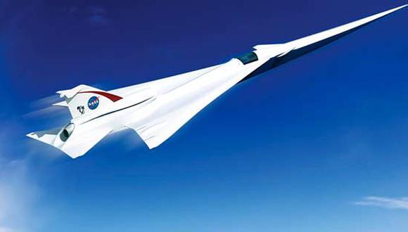 La NASA fabricará una aeronave supersónica de transporte de pasajeros