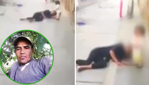 Buscan a sujeto que masacró a su pareja delante de su hijita de dos años (VIDEO)