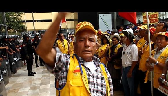 Viejitos del Fonavi marcharán contra 'Ley Pulpín'