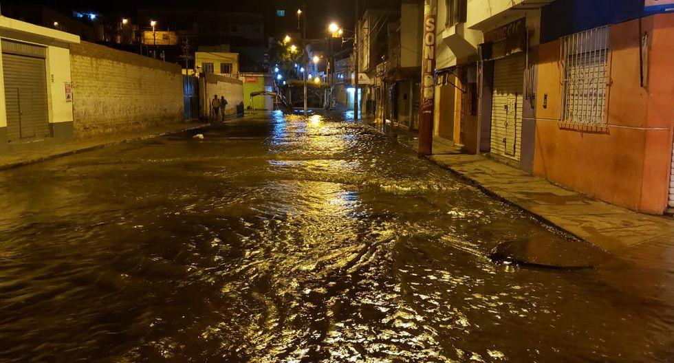 Al menos 40 familias resultaron afectadas por la inundación, informó Indeci. (Foto: @COENPeru)