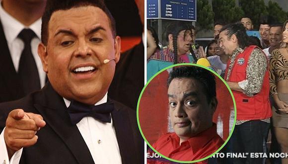 """Andrés Hurtado muestra cómo es el trato de Jorge Benavides y la productora con """"El Wasap de JB"""""""