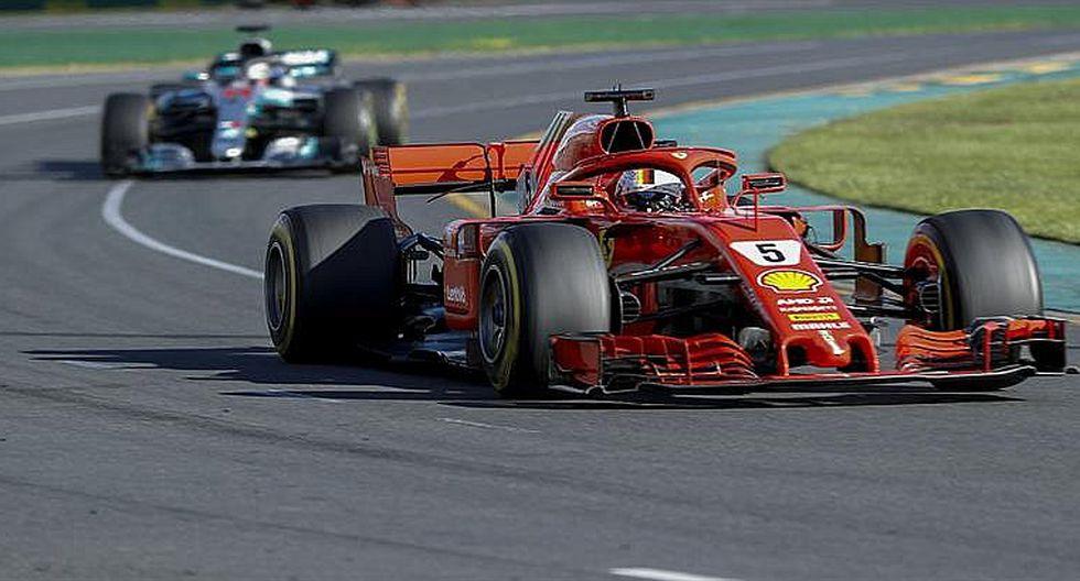 Fórmula 1: Sebastian Vettel tiene suerte y gana en arranque de temporada