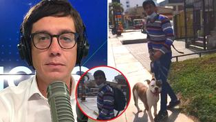 "Jaime Chincha tras ser atacado por perro pitbull: ""¿Tiene rabia?"""