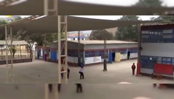 Alumnos perjudicados por colegio en mal estado a consecuencia de las heces de palomas (VIDEO)