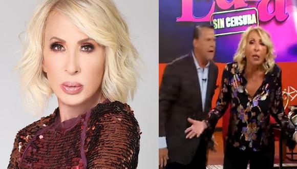 Laura Bozzo y Alfredo Adame se dijeron de todo en el programa de la abogada. (Instagram/Unicable)