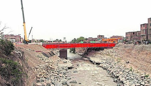 Cambian modelo de puente Bella Unión para que no se desplome