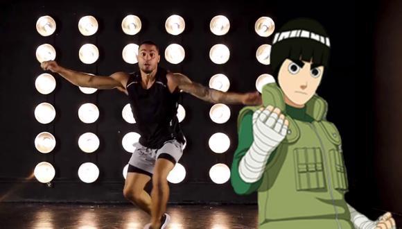 Un video viral que muestra cómo se vería Rock Lee en la vida real enloqueció a los fans de Naruto de todo el mundo.   Crédito: brknsergio / Instagram.