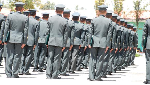 Huancavelica: El director de la Escuela Superior Técnico Policial de Huancavelica, comandante PNP Jorge Antonio Sánchez Ponce, fue detenido por realizar presuntos cobros ilegales a postulantes. (Foto Archivo GEC)